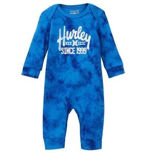 NWT. Hurley Printed Jersey Knit Coverall.